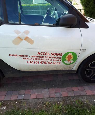 Cabinet d'infirmières à domicile, ACCES SOINS, Mons