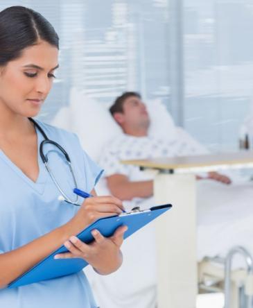 Soins palliatifs, infirmières à domicile, Mons